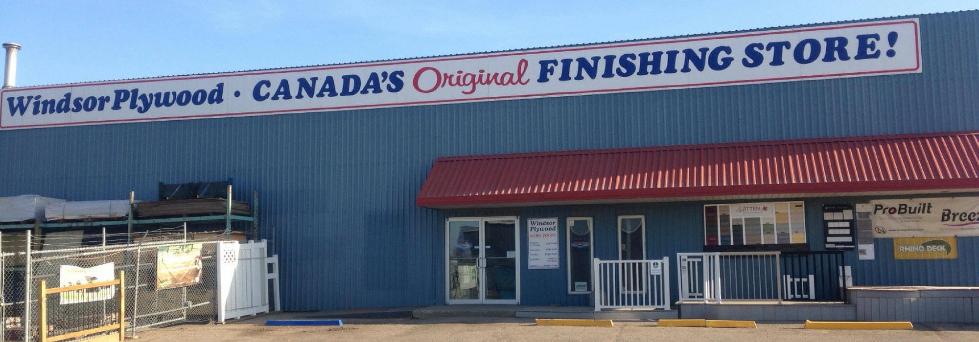 Windsor Plywood Regina store exterior